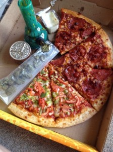 Meet Hot Local Potheads to Order Pizza With